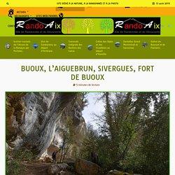 Buoux, l'Aiguebrun, Sivergues, Fort de Buoux - RandoAix