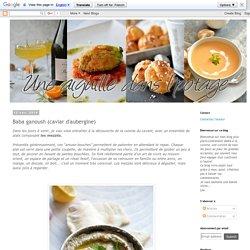 Baba ganoush (caviar d'aubergine)