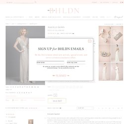 Aiguille Gown in Bride Wedding Dresses at BHLDN