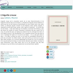 L'Aiguille creuse - Leblanc, Maurice