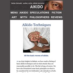 Aikido Techniques - All the Defense and Attack Moves
