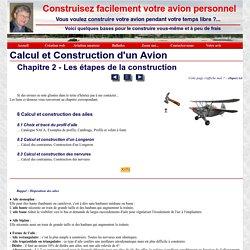 Ailes d'avion: calcul et construction