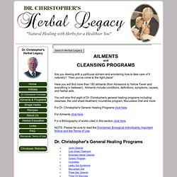 Ailments & Cleansing Programs