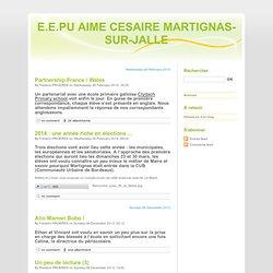 E.E.PU AIME CESAIRE MARTIGNAS-SUR-JALLE