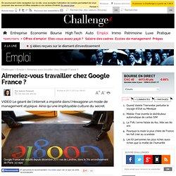 Aimeriez-vous travailler chez Google France ?