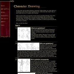 Ainessa Character Drawing Tutorial