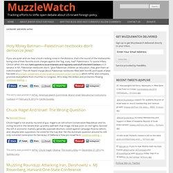 Muzzlewatch - AIPAC