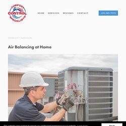Air Balancing at Home