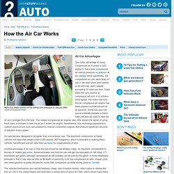 Air Car Advantages