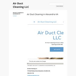 Air Duct Cleaning LLC