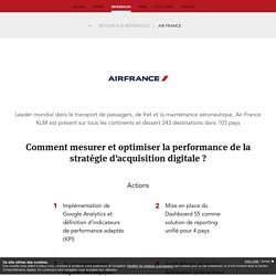airfrance marketing mix A ppt i designed for a group presentation in my digital marketing course at hec montreal mba 2010.