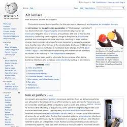 Air ioniser