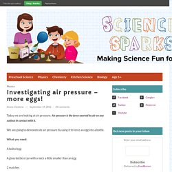Air pressure for kids