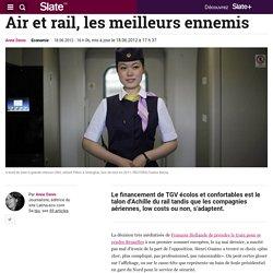 Air et rail, les meilleurs ennemis