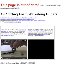 Air Surfing Kit Walkalong Glider