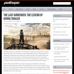 The Last Airbender: The Legend of Korra Trailer pokupo