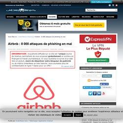 Airbnb : 8 000 attaques de phishing en mai