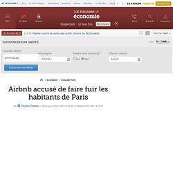 Airbnb accusé de faire fuir les habitants de Paris