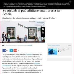 Su Airbnb si può affittare una libreria in Scozia