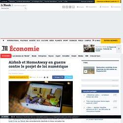 Airbnb et HomeAway en guerre contre le projet de loi numérique