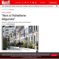 """Face à Airbnb - """"Non à l'hôtellerie déguisée"""""""