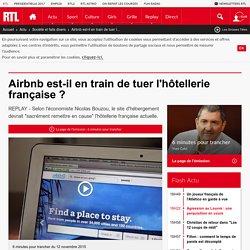 Airbnb est-il en train de tuer l'hôtellerie française ?