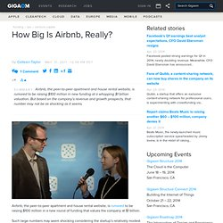How Big Is Airbnb, Really? Tech News and Analysis