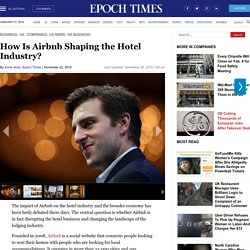 How Is Airbnb Shaping the Hotel Industry?