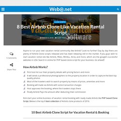 8 Best Airbnb Clone Like Vacation Rental Script
