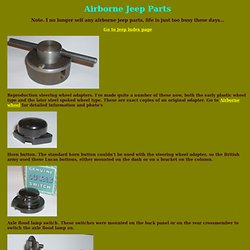Airborne Jeep Parts