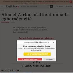 Atos et Airbus s'allient dans la cybersécurité