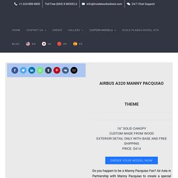 Airbus A320 Manny Pacquiao Theme