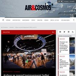 Airbus se prend logiquement l'effet covid-19