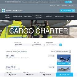 Cargo Aircraft Guide - Cargo Charters