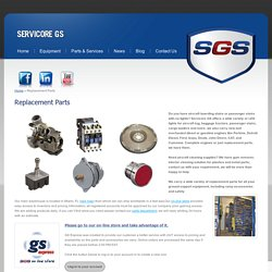Online Aircraft Cleaning Supplies, Airport Ram Safety & Tug - Servicore G.S. Corp