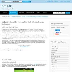 AirDroid : Contrôlez votre mobile Android depuis votre ordinateur