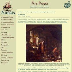 Ars Regia- IL METODO