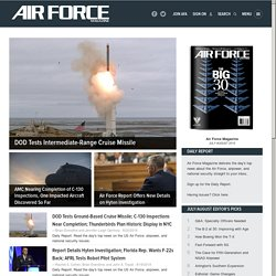 airforce-magazine.com Homepage