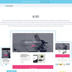 Airi Free WordPress Theme