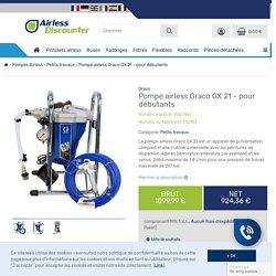 Pompe airless Graco GX 21 - pour débutants - Airless Discounter, 1099,99 €