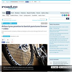 Airless tyres promise to banish punctures forever + video