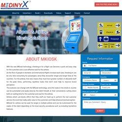 Airline Kiosk, Airline Kiosk Manufacturers - Medinyx
