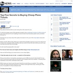 Best Day to Buy Airline Tickets: Secrets to Finding Cheap Flights