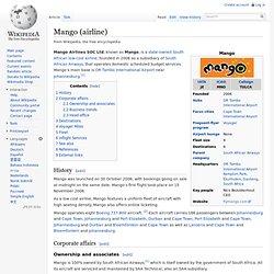 Mango (airline)