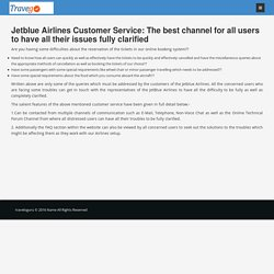 JetBlue Airlines Customer Service & support helpline Number