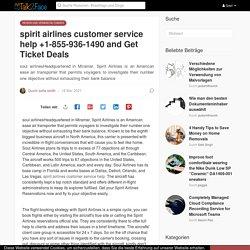 spirit airlines customer service help +1-855-936-1490 and Get Ticket Deals
