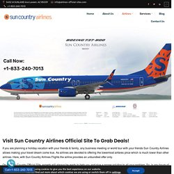 Sun Country Airlines Official Site