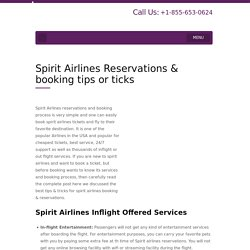 Spirit Airlines reservations +1-855-653-0624