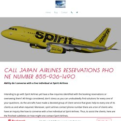 airlinesticketsbooking - Call japan airlines reservations phone number 855-936-1490