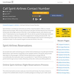 Spirit Airlines Reservations - Find the Cheapest Time to Fly